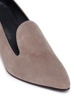 'Arky Mid' suede loafers
