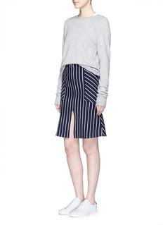 MO&Co.Stripe flare skirt