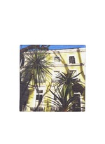 House photo print cotton pocket square