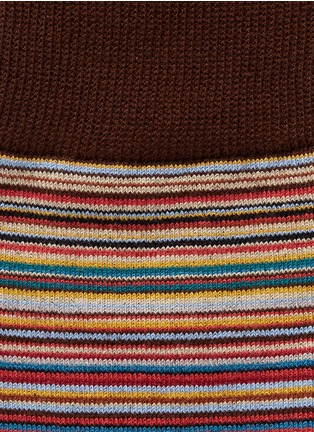 Detail View - Click To Enlarge - Paul Smith - Multi stripe socks