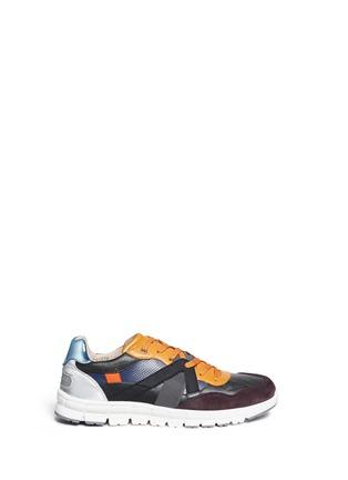 首图 - 点击放大 - DOLCE & GABBANA - 真皮拼接球鞋