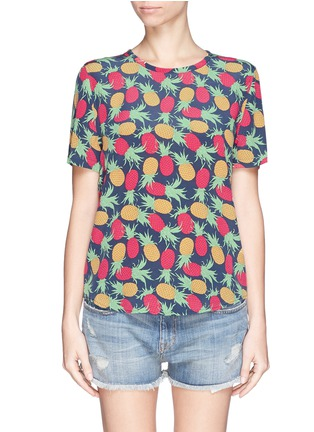 Main View - Click To Enlarge - Equipment - 'Riley' pineapple print T-shirt