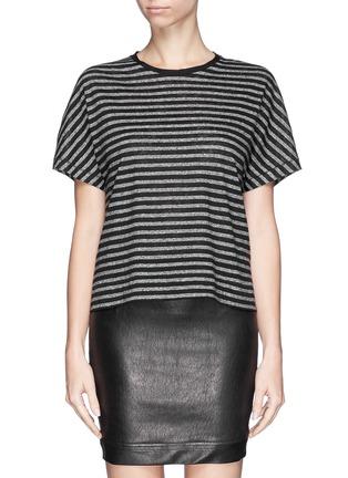 Main View - Click To Enlarge - rag & bone/JEAN - 'Robin' stripe cotton-linen T-shirt