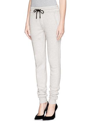 Front View - Click To Enlarge - rag & bone/JEAN - 'Langford' cotton sweatpants