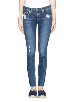 Main View - Click To Enlarge - rag & bone/JEAN - 'Skinny' slim fit jeans