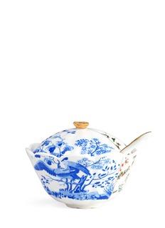 SelettiHybrid Maurilia porcelain sugar pot with spoon