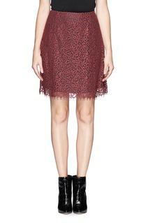 CARVENGuipure lace skirt