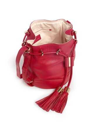 Detail View - Click To Enlarge - See by Chloé - 'Vicki' small leather bucket bag