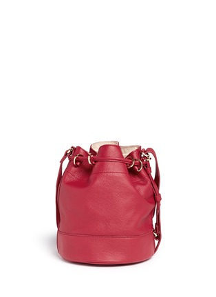 Back View - Click To Enlarge - See by Chloé - 'Vicki' small leather bucket bag
