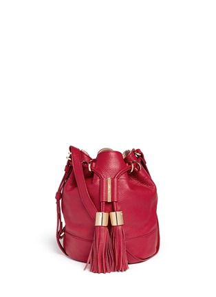 Main View - Click To Enlarge - See by Chloé - 'Vicki' small leather bucket bag
