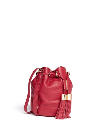 Figure View - Click To Enlarge - See by Chloé - 'Vicki' small leather bucket bag