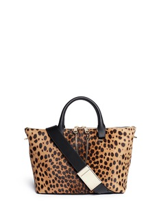 CHLOÉ'Baylee' medium spotted calfskin leather tote