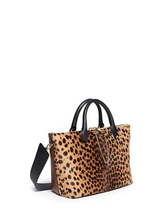 CHLOÉ 'Baylee' medium spotted calfskin leather tote