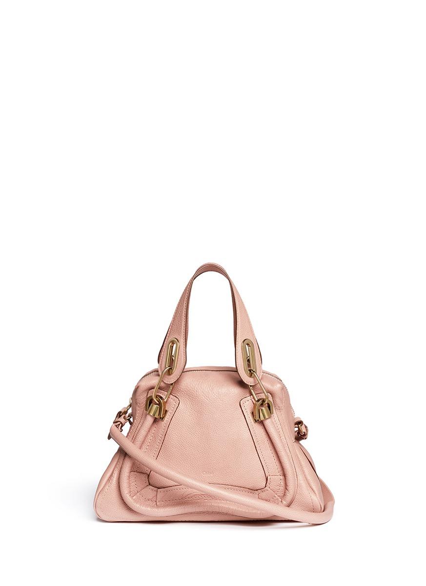 CHLO¨¦ - \u0026#39;Paraty\u0026#39; small leather bag | Pink Satchels Shoulder Bags ...