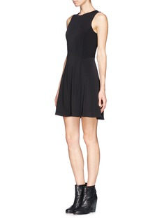 RAG & BONE Geneva flare crepe dress