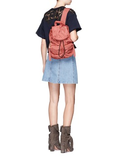 See by Chloé 'Joy Rider' small star keyring puffer backpack