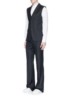 Alexander McQueenPinstripe wool twill pants