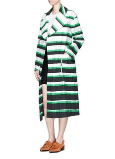 Emilio PucciOversized stripe coat