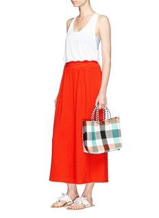 Mara HoffmanOrganic cotton pleated beach pants