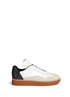Alexander Wang  'Eden' low top leather and suede sneakers