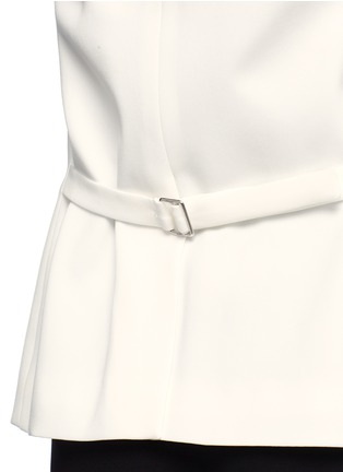 细节 - 点击放大 - THEORY - 单色绉绸西服外套