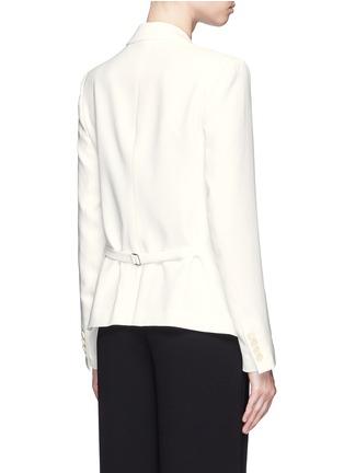 背面 - 点击放大 - THEORY - 单色绉绸西服外套