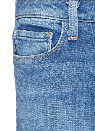 Detail View - Click To Enlarge - L'Agence - 'Sophie' denim flared jeans