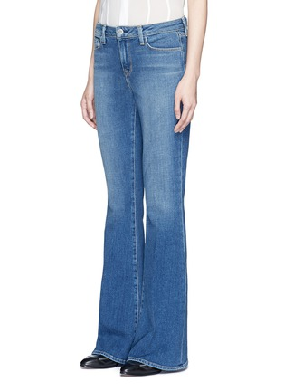 Front View - Click To Enlarge - L'Agence - 'Sophie' denim flared jeans