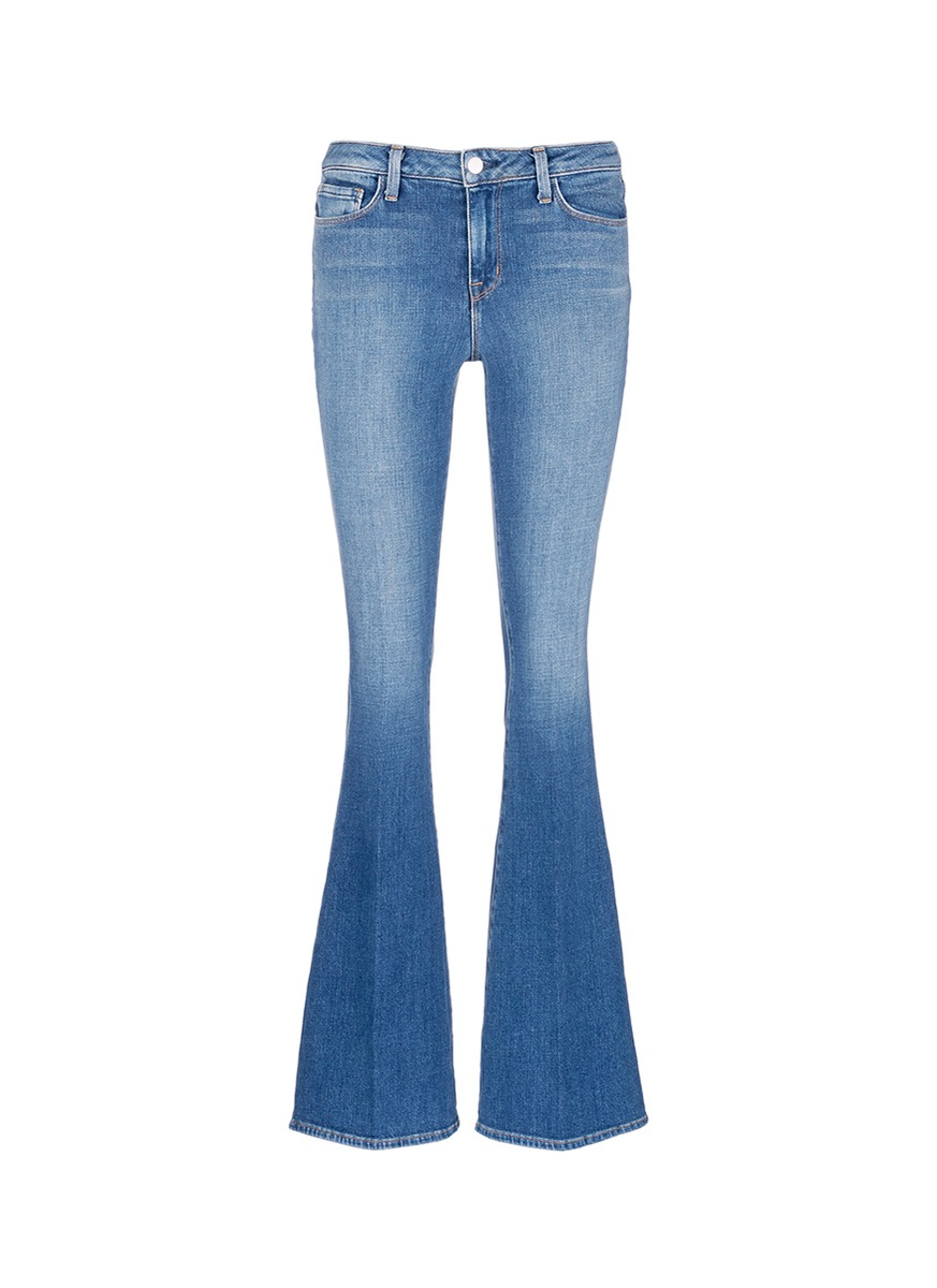 Sophie denim flared jeans by L'Agence