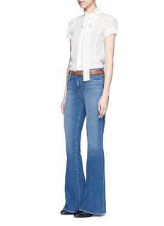 L'Agence 'Sophie' denim flared jeans