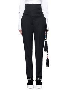 Ports 1961Tassel side virgin wool pants