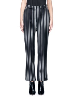 GivenchyStripe wool suiting pants