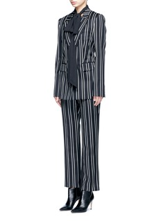 Givenchy Stripe wool suiting pants