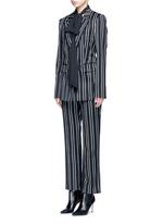 Stripe wool suiting pants