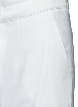 Detail View - Click To Enlarge - Chloé - Drawstring waist dropped crotch pants