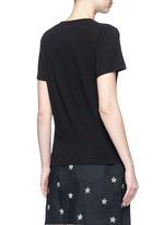 'New York Academy' print jersey T-shirt