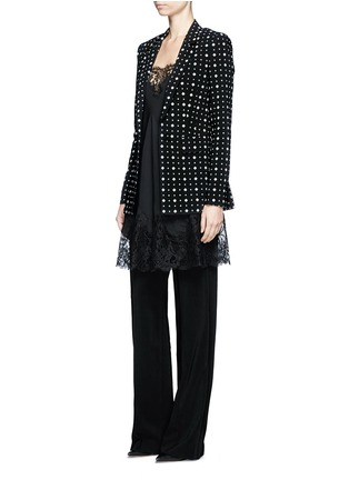 Figure View - Click To Enlarge - Givenchy - Mix floral print blazer