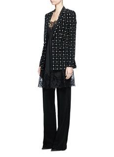 GivenchyMix floral print blazer