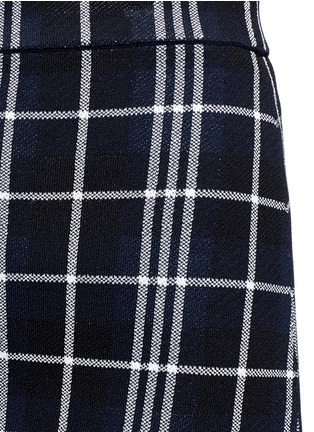 Detail View - Click To Enlarge - Theory - 'Teslianna B' plaid knit skirt