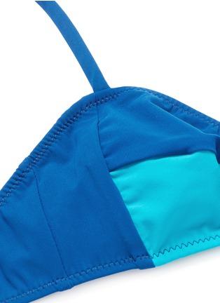 Detail View - Click To Enlarge - Araks - 'Yanelis' colourblock bikini top