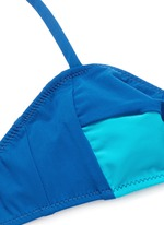 'Yanelis' colourblock bikini top