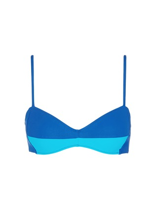 Main View - Click To Enlarge - Araks - 'Yanelis' colourblock bikini top