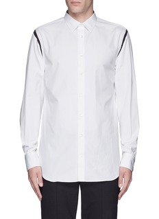 Alexander McQueen Shoulder stripe cotton shirt