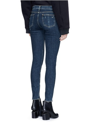 Back View - Click To Enlarge - rag & bone/JEAN - 'Skinny' distressed jeans