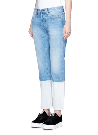 Front View - Click To Enlarge - Ports 1961 - Dipped hem whiskered jeans
