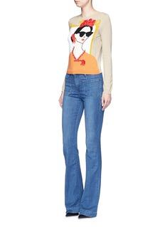 ALICE + OLIVIA'Stace Face Frida' embellished sweater