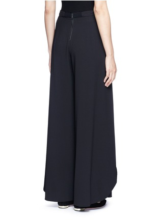 Back View - Click To Enlarge - alice + olivia - 'Larissa' wrap wide leg pants
