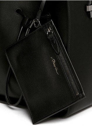 Detail View - Click To Enlarge - 3.1 Phillip Lim - 'Soleil' small drawstring bucket bag