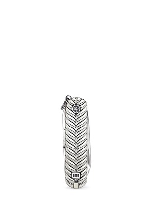 模特儿示范图 - 点击放大 - DAVID YURMAN  - Chevron Swiss Army® knife