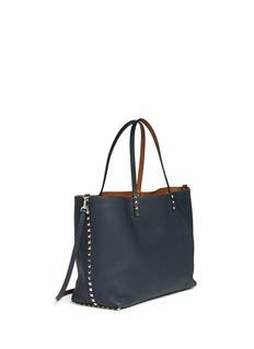 VALENTINO'Rockstud' medium reversible leather tote